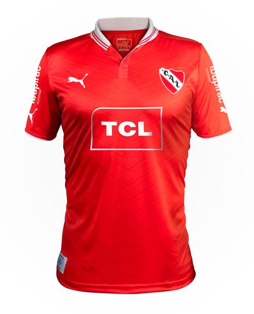 Independiente home jersey 2012