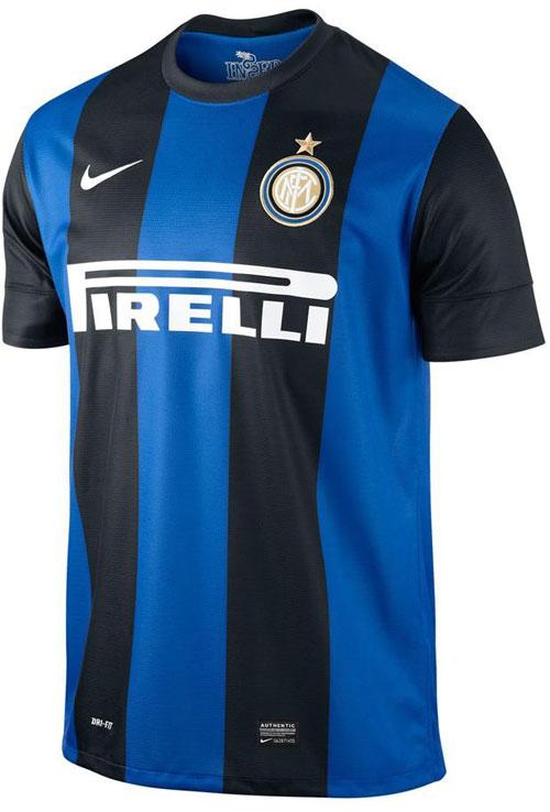 Inter home jersey 2012