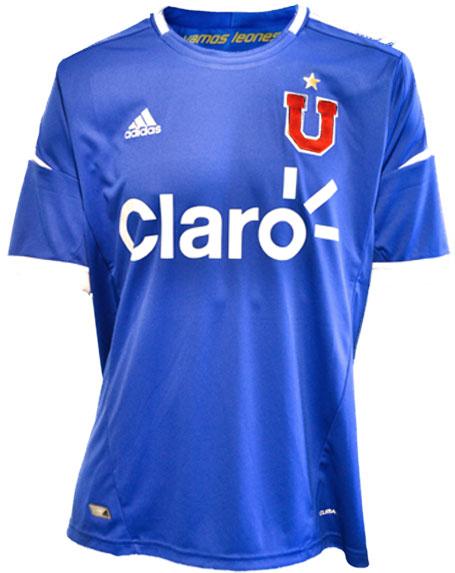 La U home jersey 2012