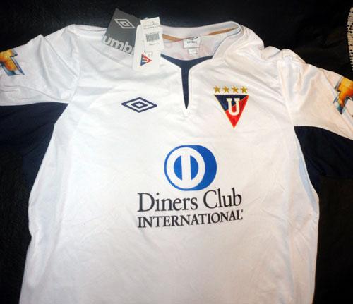 Liga de Quito home jersey 2012