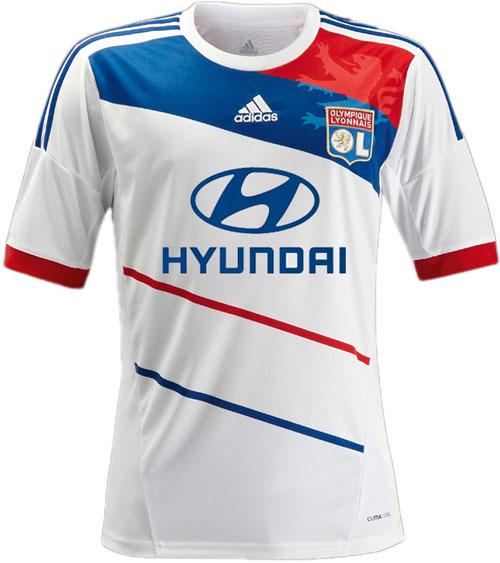 Lyon home jersey 2012