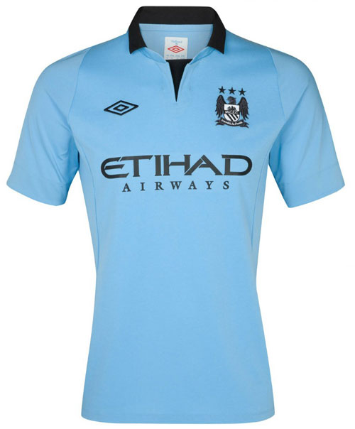 Manchester City home jersey 2012-13