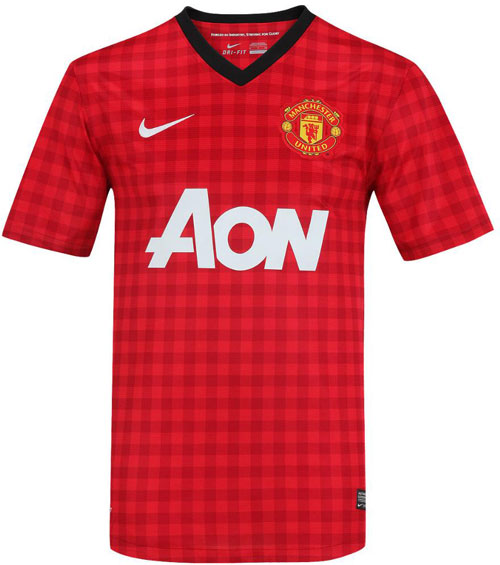 Man United home jersey 2012-13
