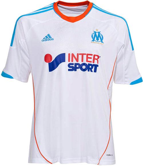 Marseille home jersey 12-13