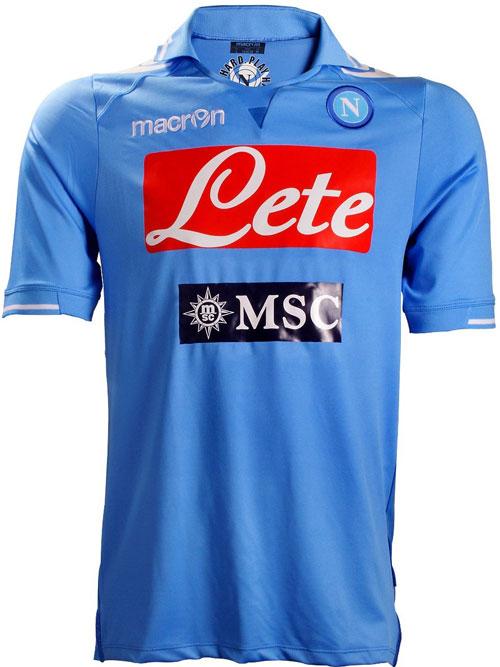 Napoli home jersey 2012