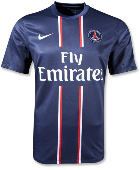 PSG home jersey 2012