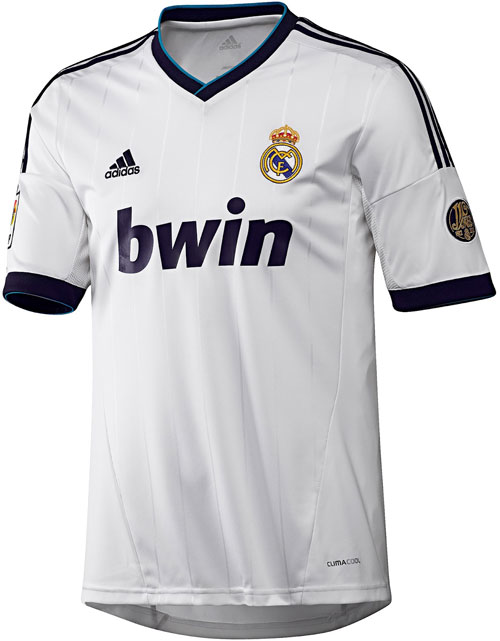 Real Madrid home jersey 12-13