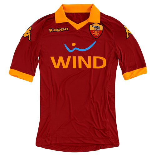 AS Roma home jersey 12-13