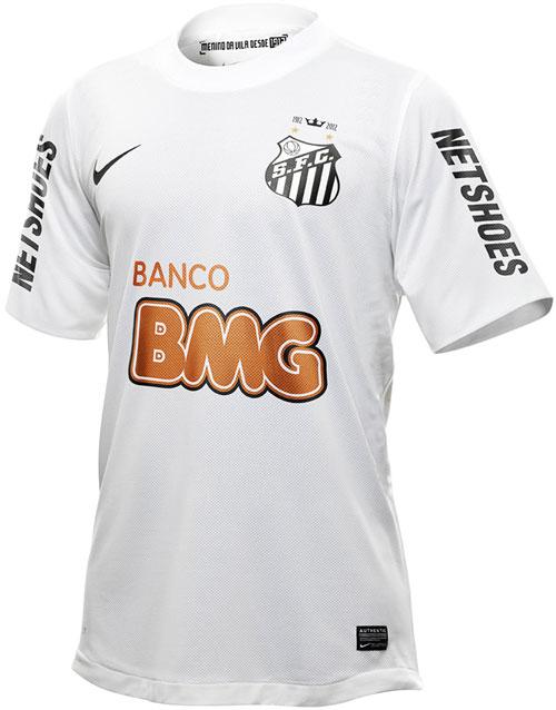Santos home jersey 2012