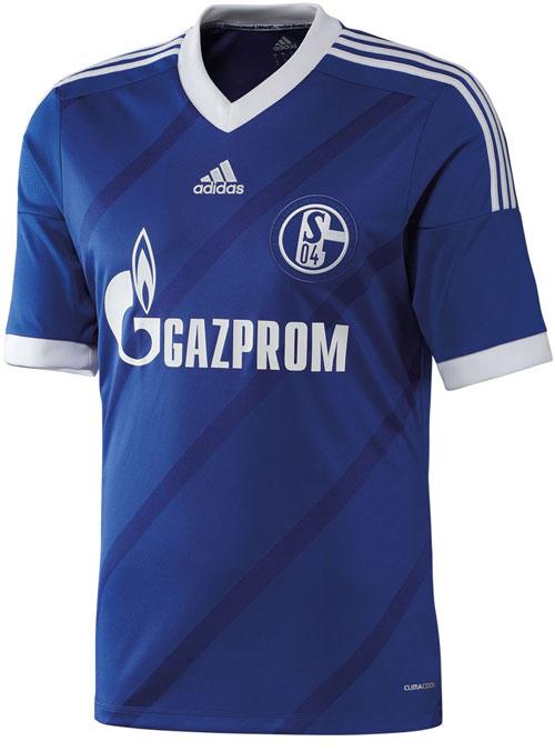 Schalke 04 home jersey 2012