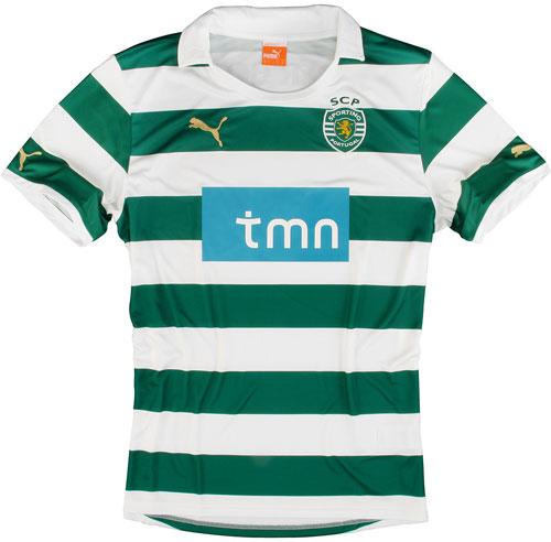 Sporting Lisbon home jersey