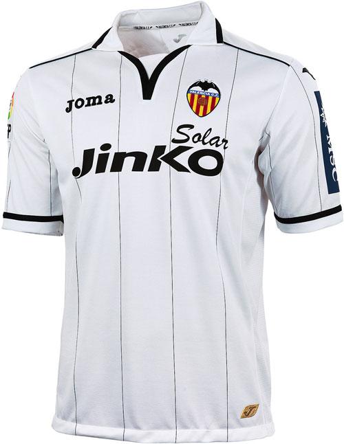 Valencia home jersey 2012