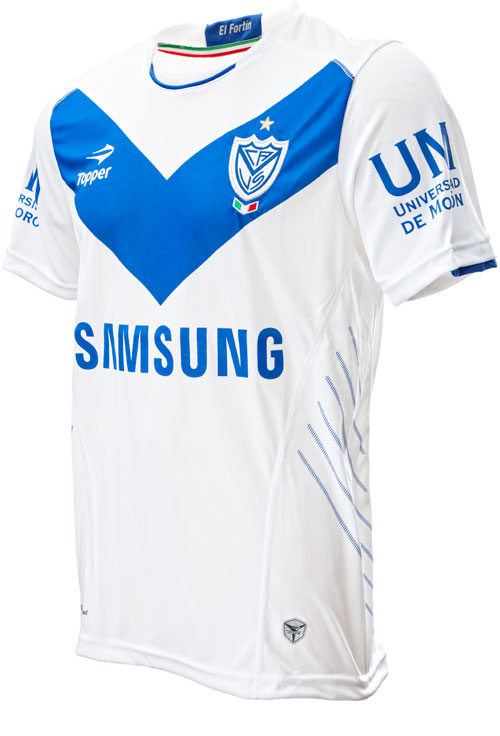 Velez Sarsfeld home jersey 2012