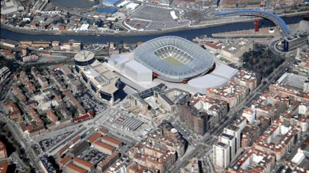Athletic Bilbao stadium San Mames Barria