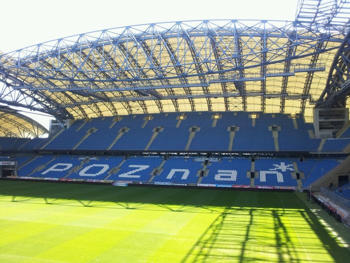 Lech Poznan stadium in Poznan Poland