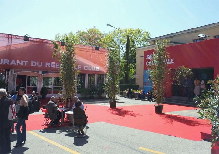 Nyon film festival the red carpet