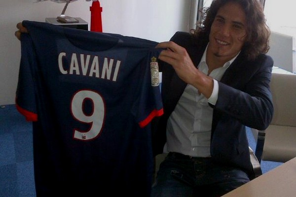 Cavani 9 at Paris SG