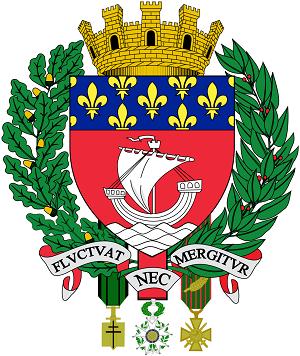 Paris ville coat of arms