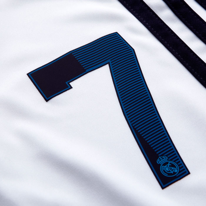 Real Madrid shorts number 7