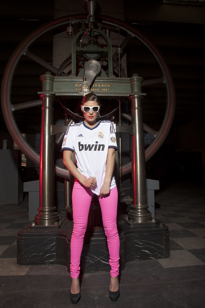 Real Madrid girl industrial times