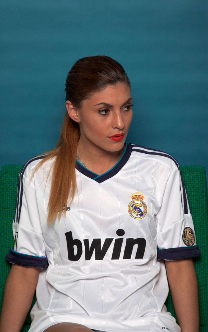 Real Madrid girl trim inside