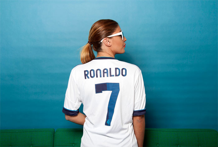 Real Madrid name and number kit distance