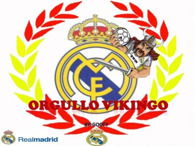 Real Madrid pride to be a viking