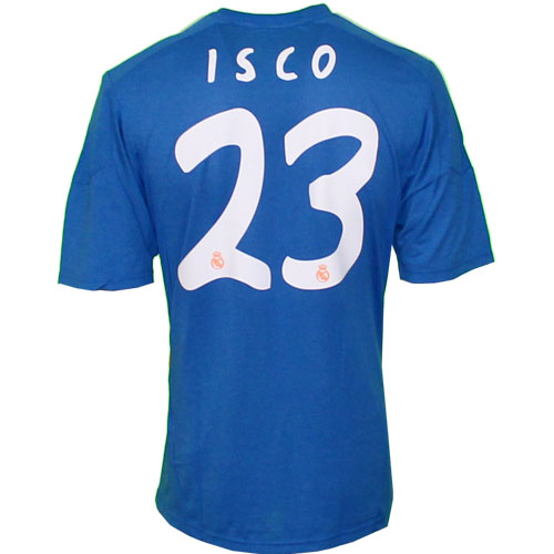 Real Madrid away jersey 2013/14 ISCO 23