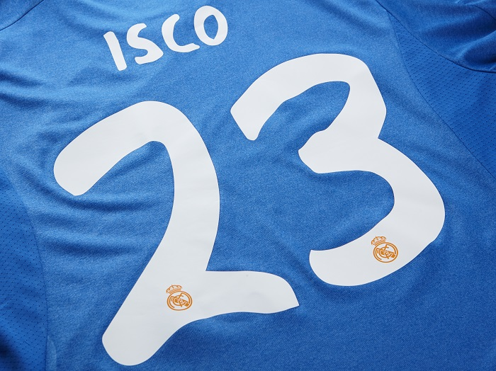 Real Madrid away jersey ISCO 23 printing