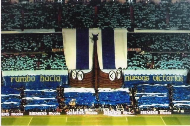 Real Madrid los Vikingos en el Bernabeu