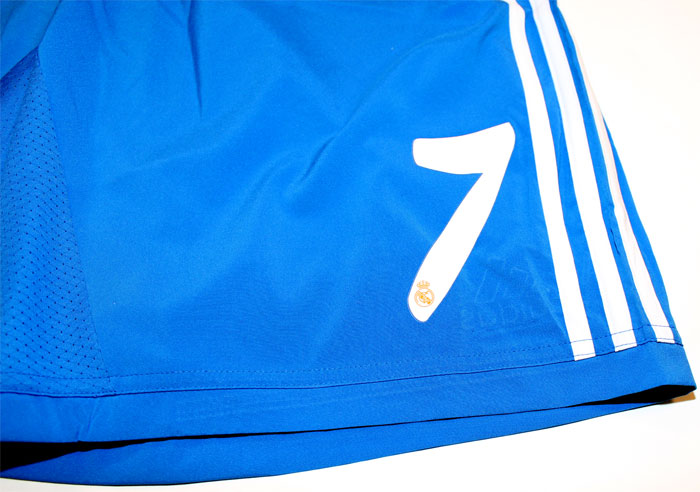 Real Madrid away shorts Number 7