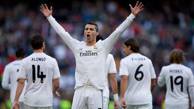 Real Madrid hjemme trøje med lange ærmer