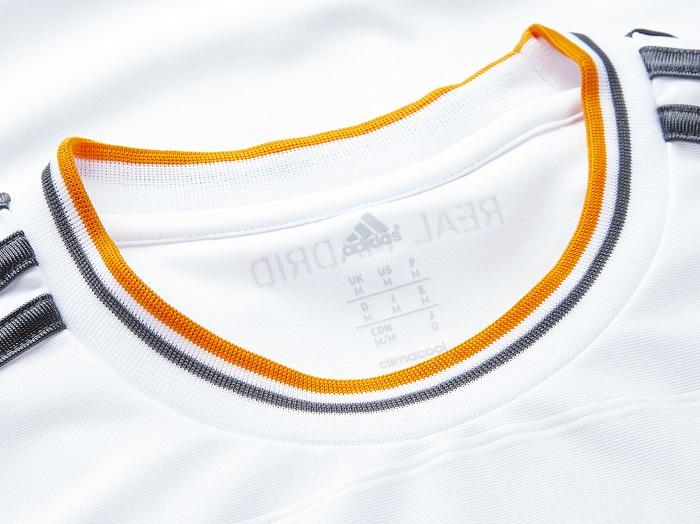 Real Madrid home kit 13/14 crew collar