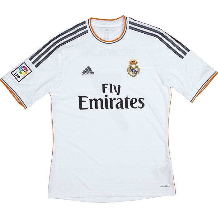 Real Madrid home jersey 2013/14
