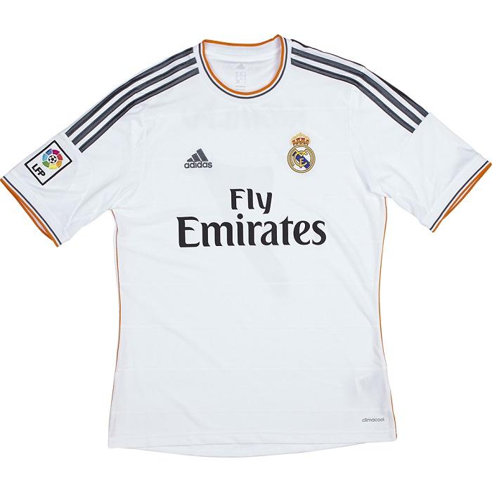 Real Madrid home jersey Los Blancos