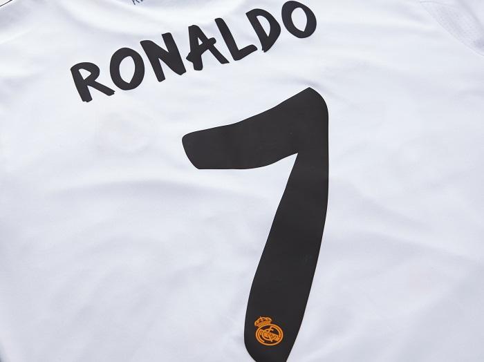 Real Madrid name kit closer look