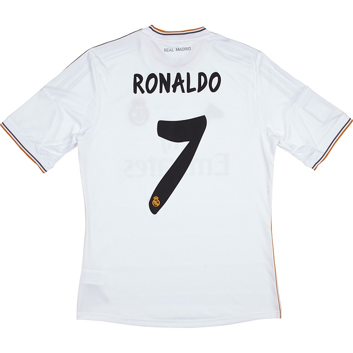 Real Madrid home jersey 13/14 Ronaldo 7