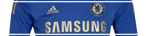 Chelsea home jersey 12-13