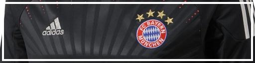 FC Bayern UCL away jersey 12-13
