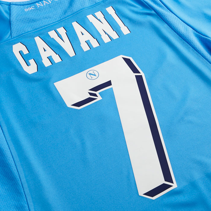 Napoli name and number kit 12/13