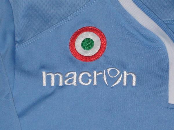 Lazio home jersey Coppa badge