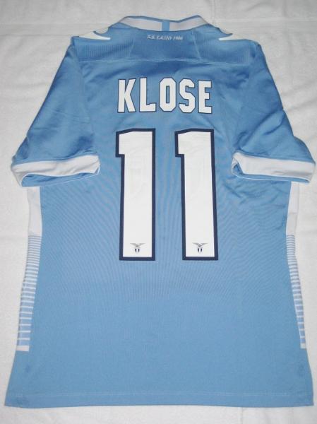 Lazio home jersey Klose 11