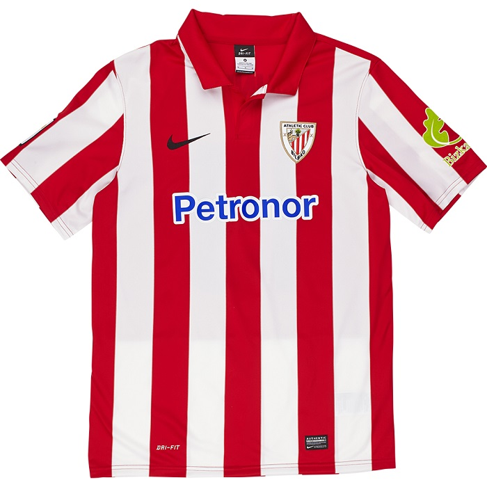Athletic Bilbao home jersey 2013/14