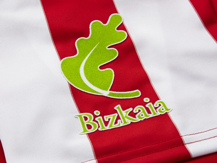 Club Athletic Bilbao jersey Biskaya logo