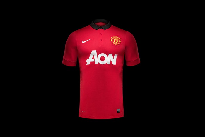 Ny Manchester United hjemme trøje 13-14