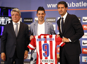 Atletico Madrid name and number kit 13/14