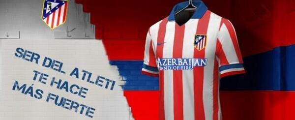 Ny Atletico Madrid hjemme trøje 13/14
