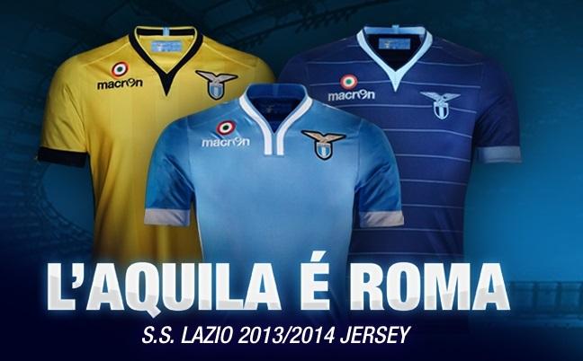 Lazio kits 2013/14