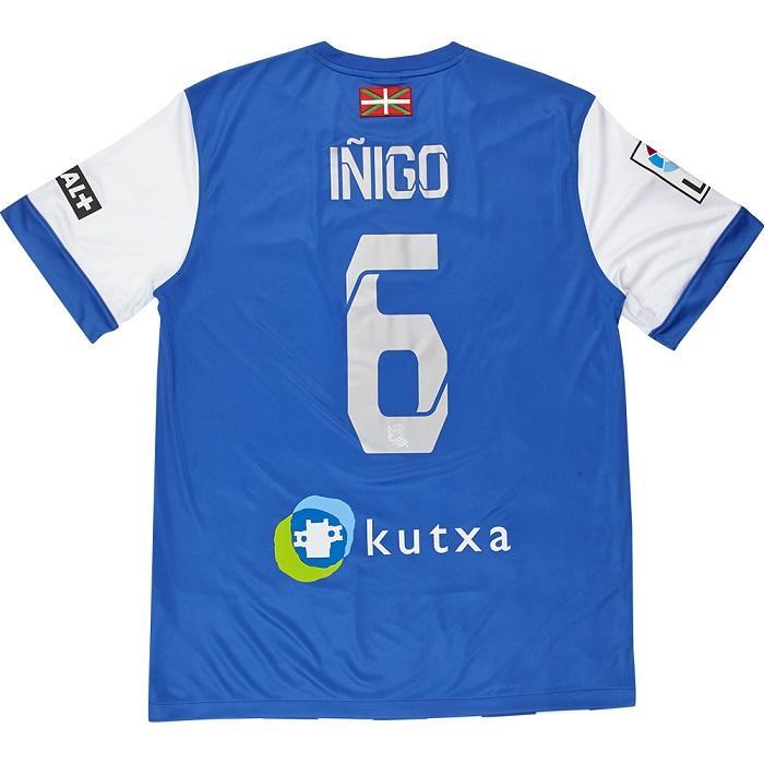 Real Sociedad home jersey Inigo 6