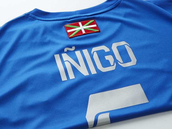 Real Sociedad Iñigo name block from Foiltex